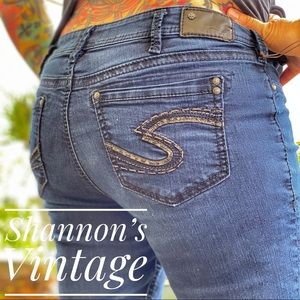 Silver Suki super Skinny sz 34 jeans A33